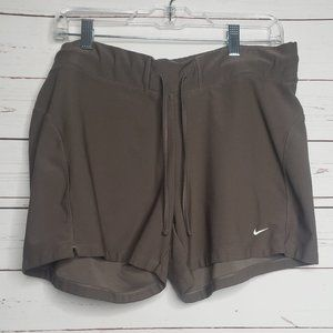 Nike Brown Athletic Shorts Size XL